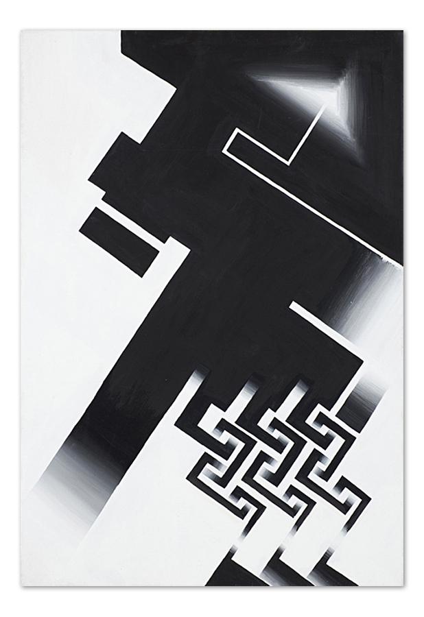 Ornament – acrylic on canvas, 70×100 cm