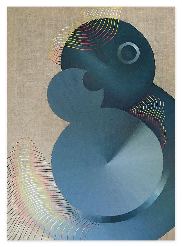 Double 8 – acrylic on canvas, 60x85 cm