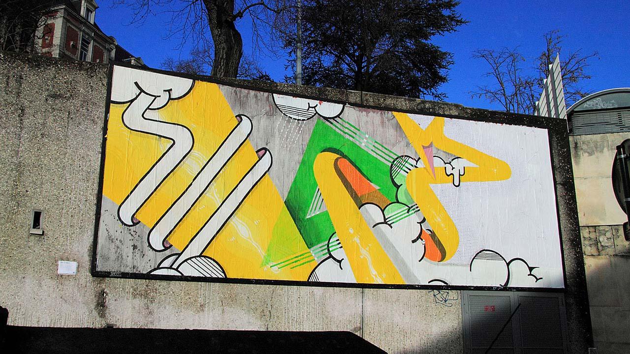 Le Mur St.Etienne 2013