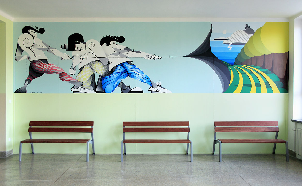 Decoration in elementary school
