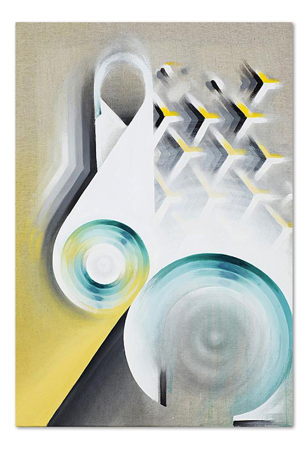 Horse – acrylic on canvas, 70×100 cm