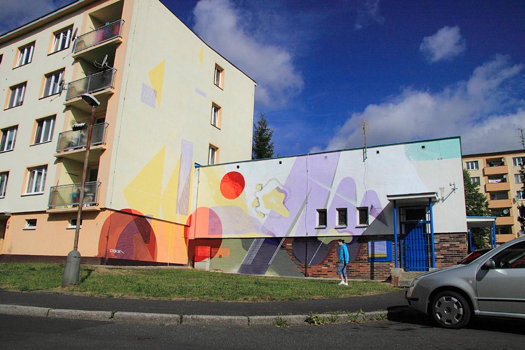 Graffiti boom / Cheb with Keim
